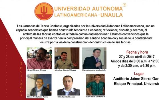 Segundo Simposio de Teoría Contable, Medellin, 27 y 28 de Abril del 2017 – Universidad Autónoma.
